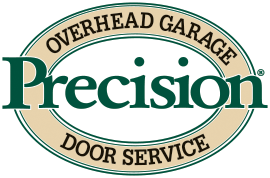 Precision Door Logo · Home; Garage Door Repair
