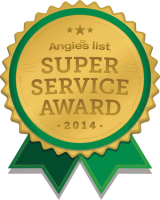 Angie's List Super Service Award winner 6 years running!