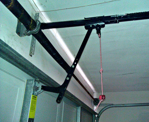 Garage Door Opener Emergency Release