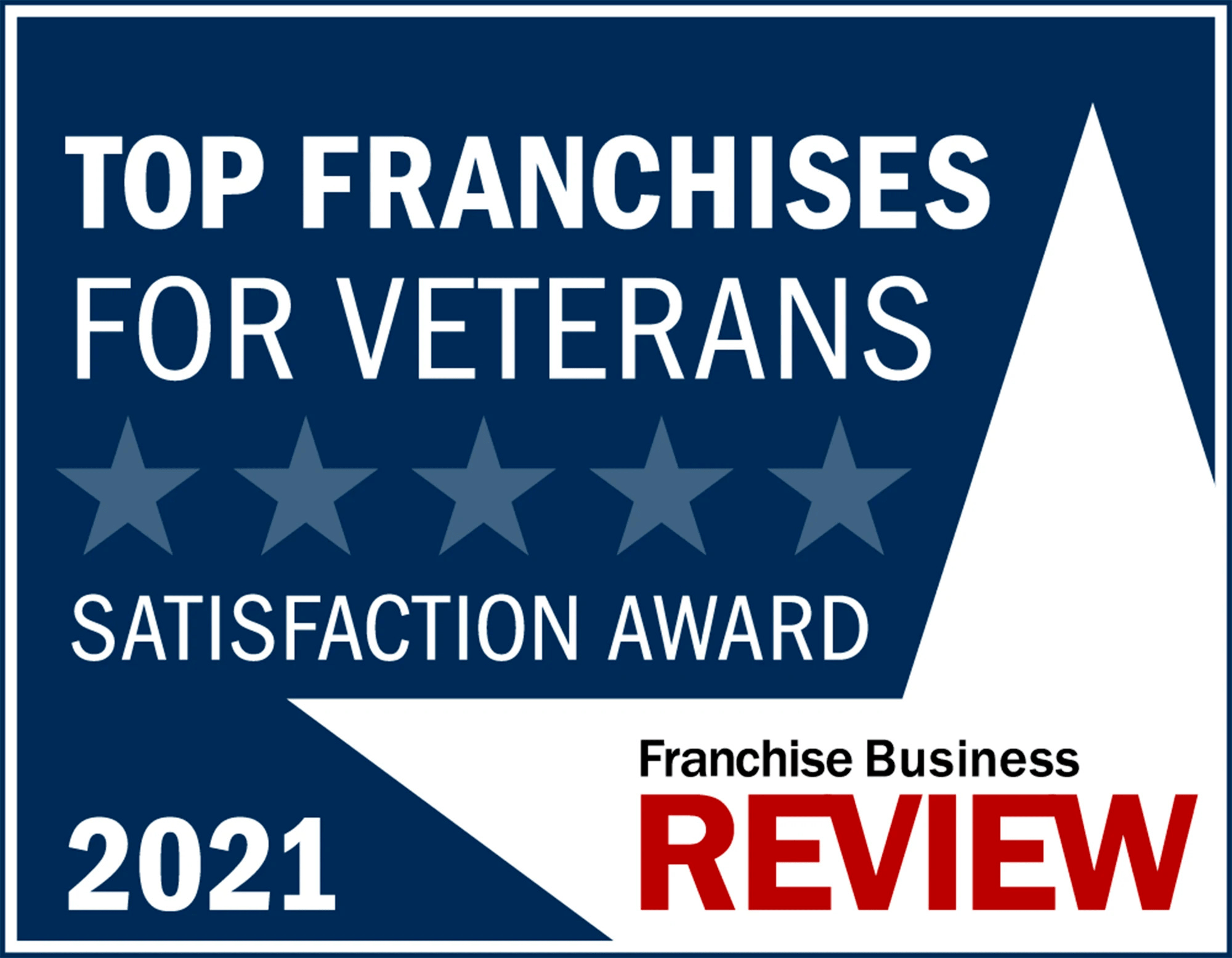 Top Franchises for Veterans Satisfaction Award 2020