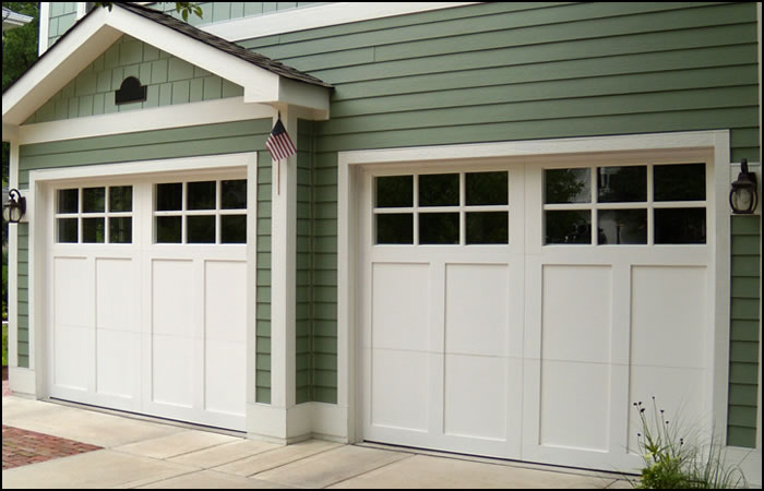 Precision garage door brevard county fl garage door for Garage door styles