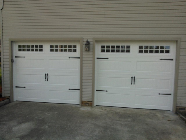 Precision garage door virginia beach va garage door for How wide is a garage door
